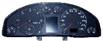 Audi A4 speedometer instrument cluster